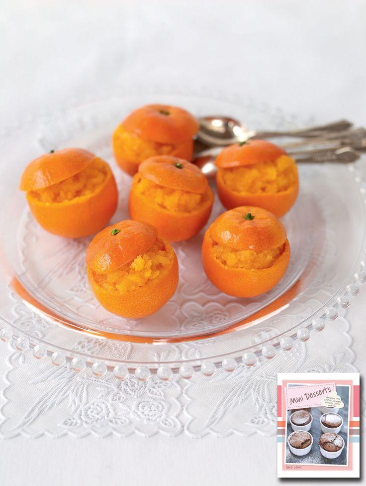 Mini Clementine Granitas | Christmas Recipes | Pinterest
