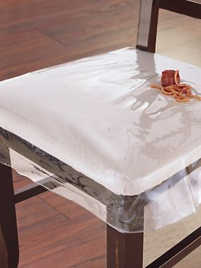 clear plastic dining chair seat protector solutions