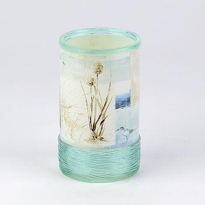 Avanti Blue Waters Tumbler Beach Themed Bathroom Ideas