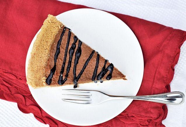 No-Bake Chocolate Pumpkin Pie | Recipes | Pinterest