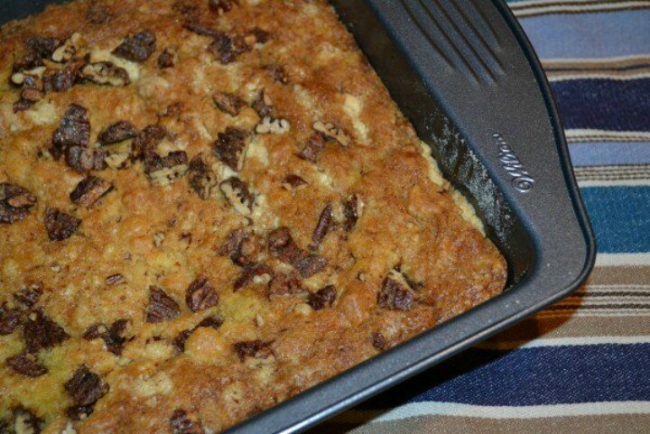 Chocolate chip dump cake   Cake's I'd Like to Attempt   Pinterest