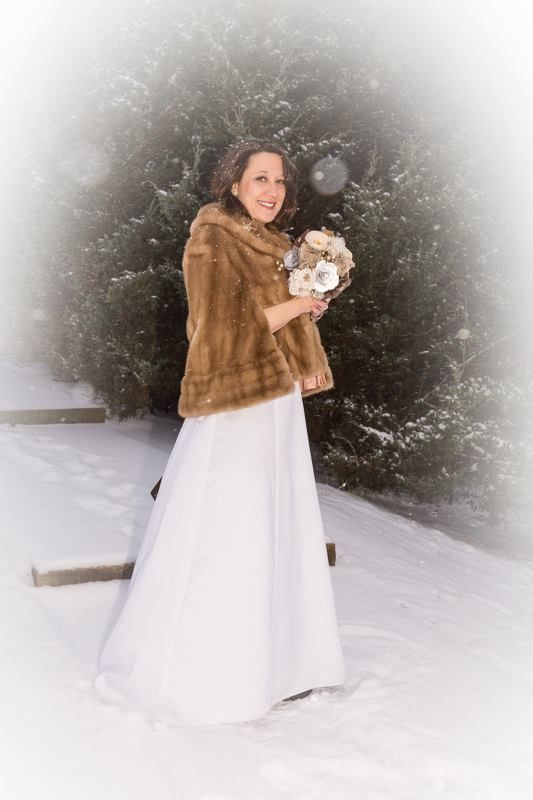 Winter bride wedding pinterest