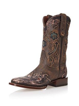 49% OFF Dan Post Women s Pointed Arrow Boot (Pink/Brown
