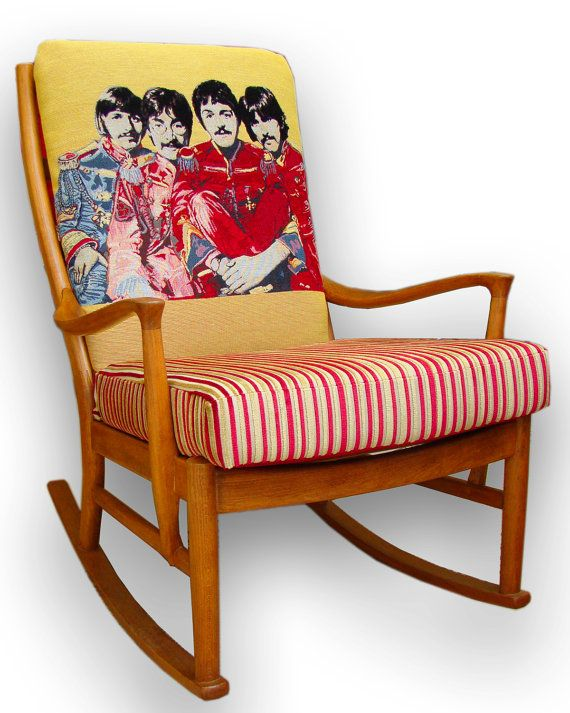 The Beatles Rocking Chair In Andrew Martin Fabrics