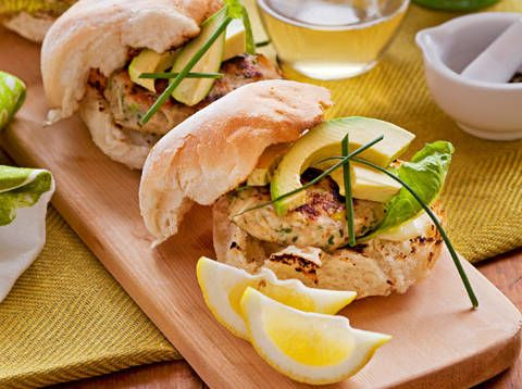 Chicken, apple and macadamia burgers | Recipe