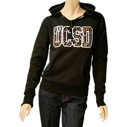 Diego Bookstore - UCSD Tritons Two color Twill Hoodie by Wide World