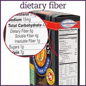 dietary fiber label - photo #33