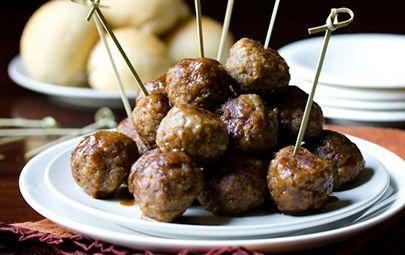 Spiced Apple Butter Swedish Meatballs | Fun food!!! | Pinterest