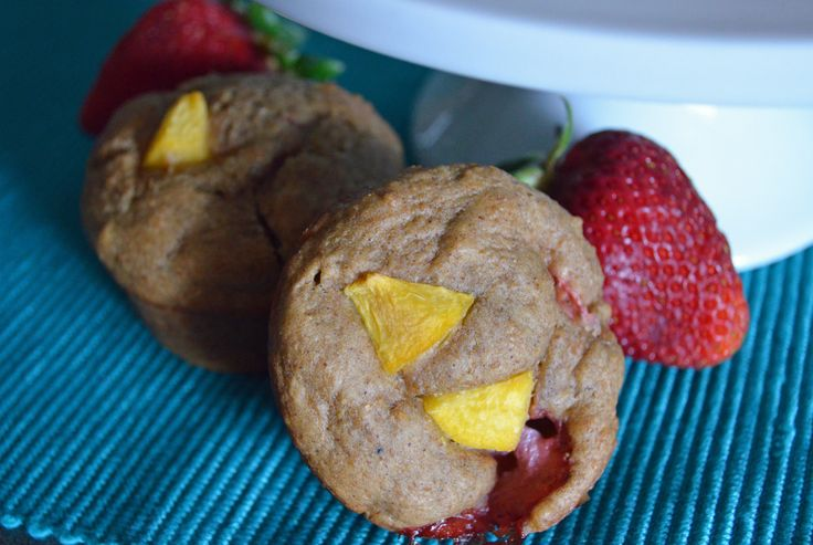 New post!} peach berry bran muffins! | inky-twin eats | Pinterest