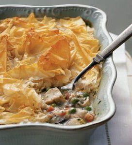 Recipe for Lighter Chicken Pot Pie - I decided to take a little from ...