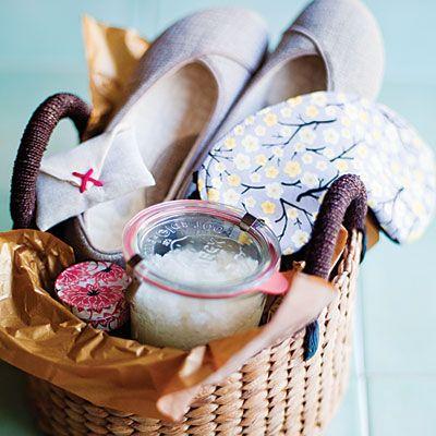 Spa gift basket DIY