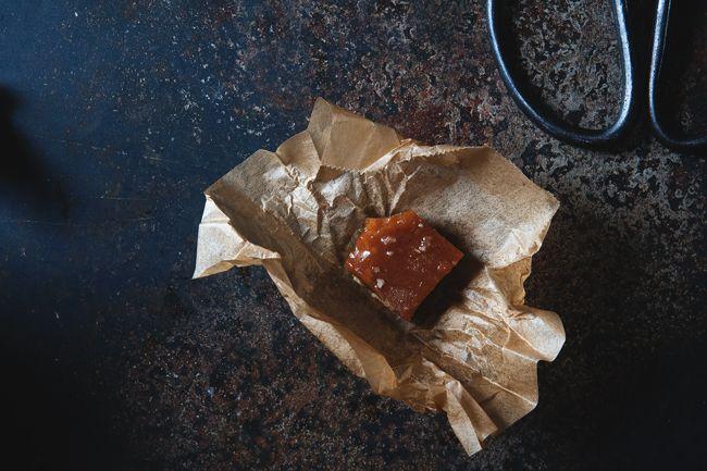 salted pumpkin caramels   I want CANDY   Pinterest