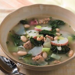 Leek, Potato & Spinach Stew Recipe. used regular white cooking wine ...