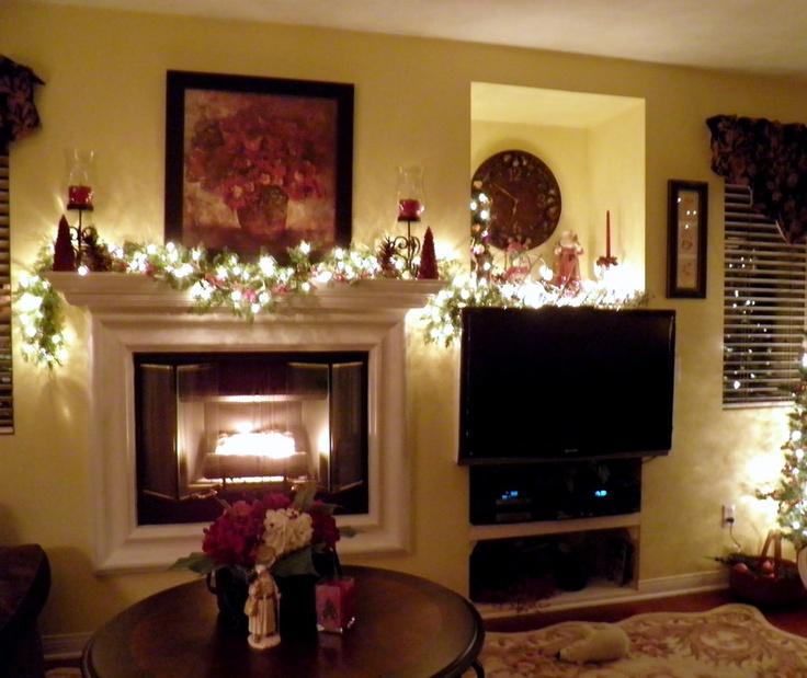 Family Room 2011 Christmas Decorating Ideas Pinterest