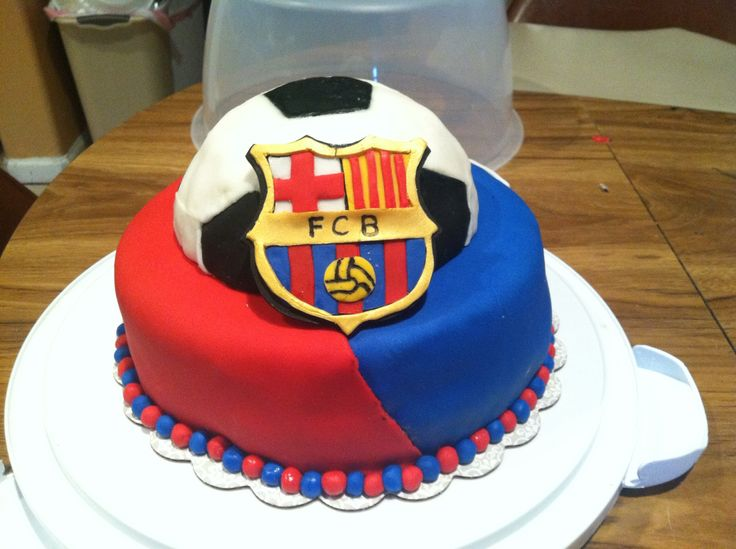 barcelona fc cakes