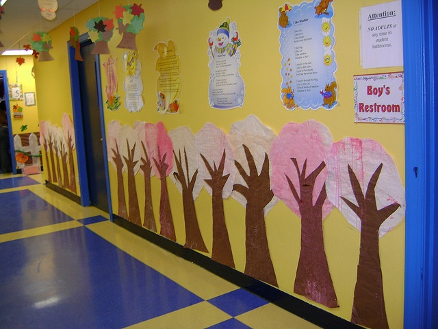 Wonderful classroom decor ideas teaching alt resources for Classroom mural ideas