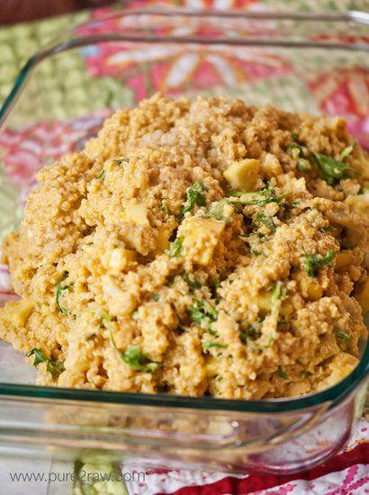Cheesy Quinoa Casserole (Gluten Free)