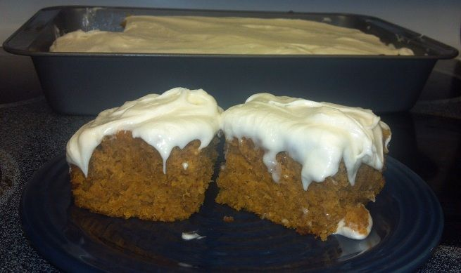 Pumpkin Bars Recipe from Paula Dean | sugary goodness | Pinterest