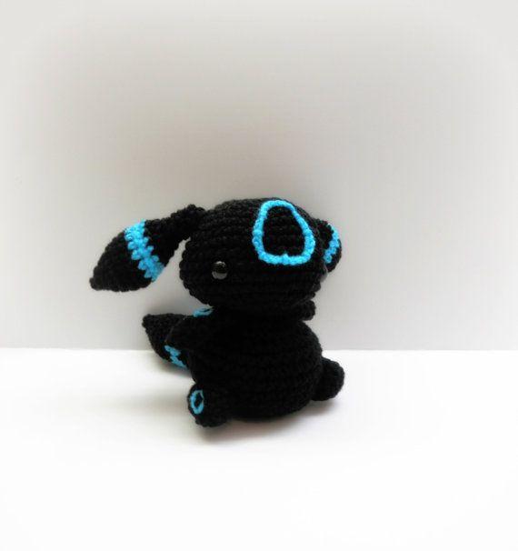 Crochet Umbreon Inspired Chibi Pokemon by MissJennysCrochet, $20.00