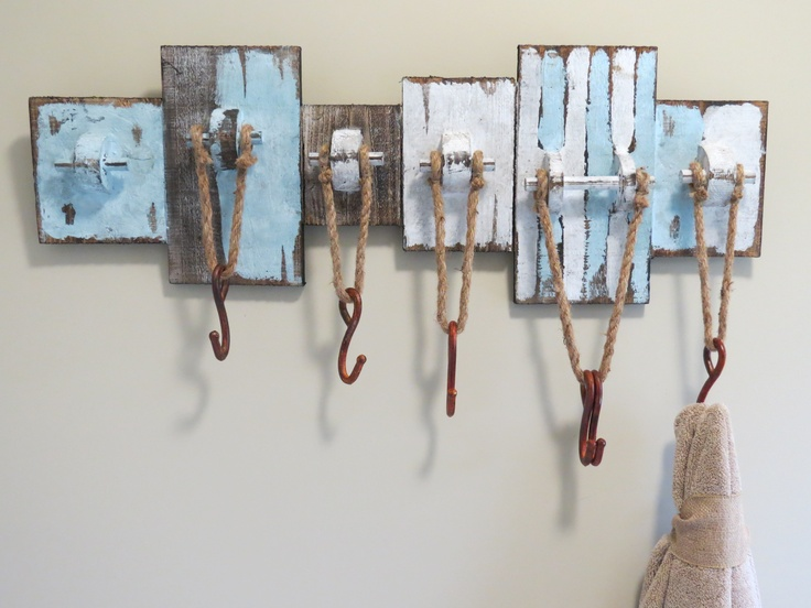 Another way to hang your towels bathroom decor pinterest