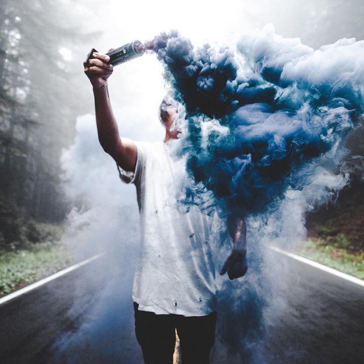Фото на аву дым