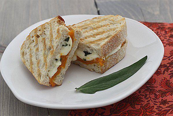 Roasted Butternut Squash Panini | Feeding the Family (Vegan/Vegetaria ...