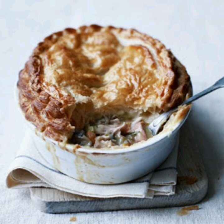 Chicken, Ham, And Tarragon Pie | Pastry, Puffs, Pies and ...