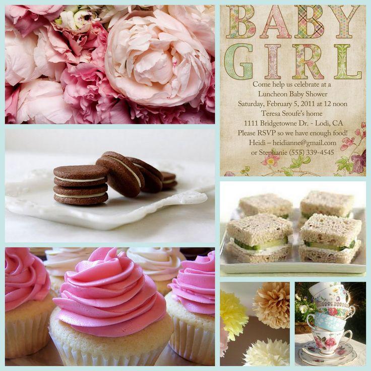 Baby Shower Tea Party Theme ~ Tea party shower theme kristi s baby pinterest