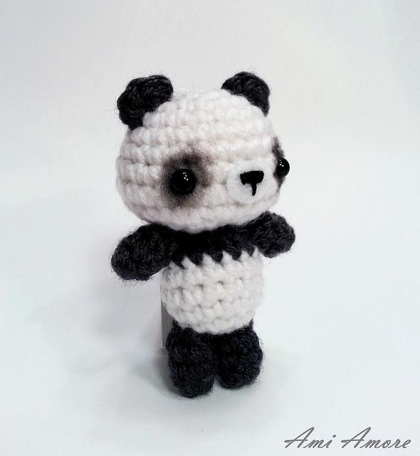 Amigurumi Patterns Panda Bear : Amigurumi Panda Bear Knitting/ crochet Pinterest