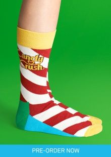 Happy Socks and Candy Crush Saga - Limited Edition Socks - US