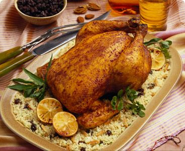 Recipe for Moroccan-style Roast Chicken | Recipes from Around the Wor ...
