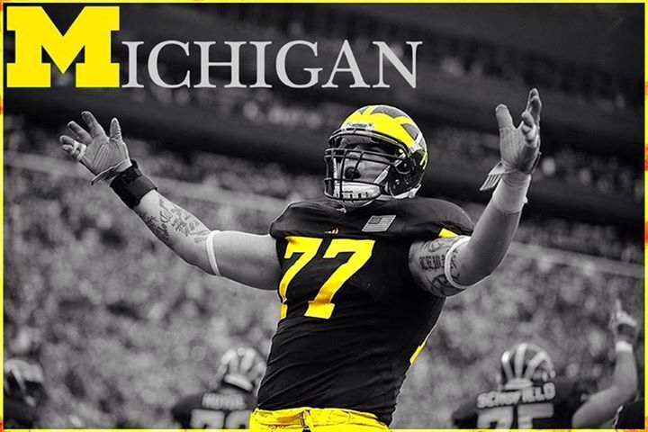 go blue michigan wolverines football pinterest