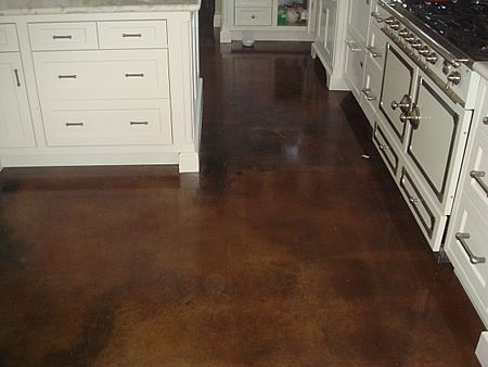 Concrete Floors For Kitchen For The Kitchen Pinterest
