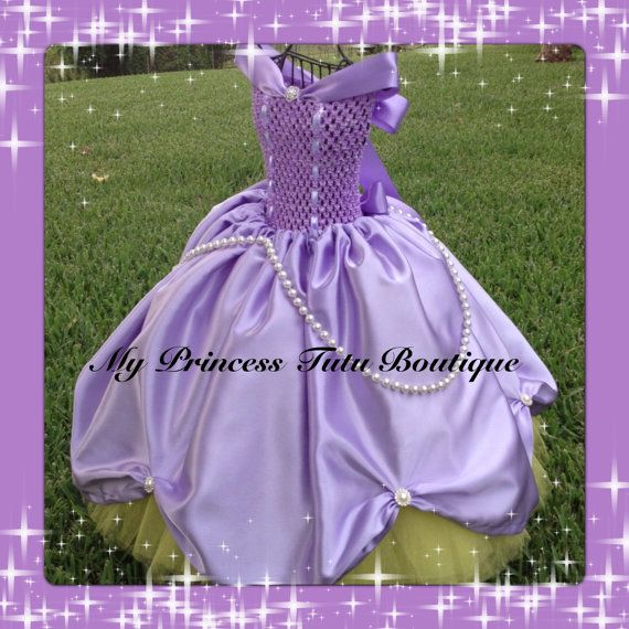 Sofiia the First tutu dress Sofia the First dress Sofia the First costume Princess Tutu Dress