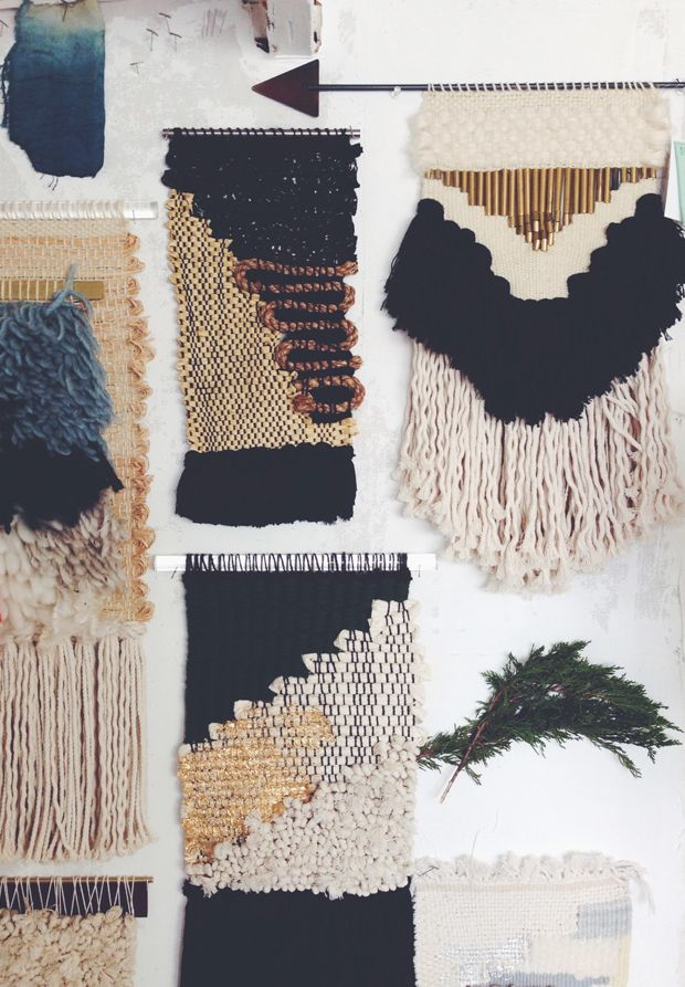Last week I got a real treat: a studio visit with Janelle Pietrzak, the textile master behind All Roads. We met on Instagram, and when I saw that her studio was