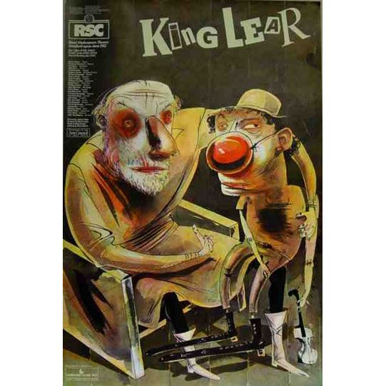 an analysis of royal fool in king lear by william shakespeare In william shakespeare's king lear the fool plays many important roles when cordelia, lear's only well-intentioned daughter, is banished from the kingdom fool immediately assumes her role as lear's protector.