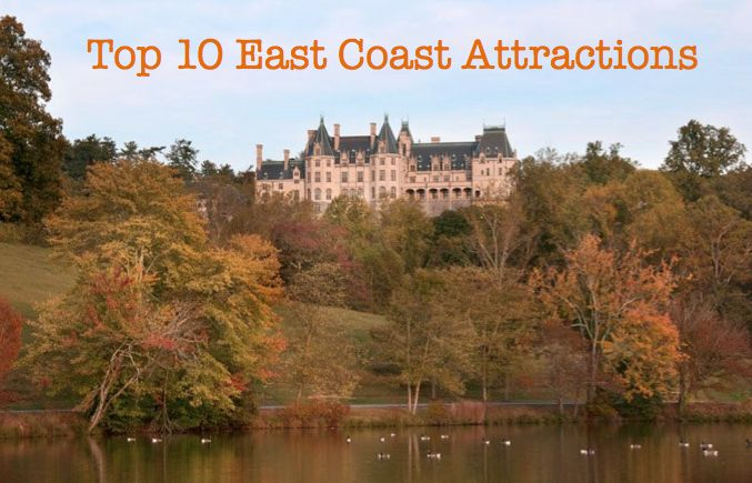 top 28 east coast attractions 25 best ideas about