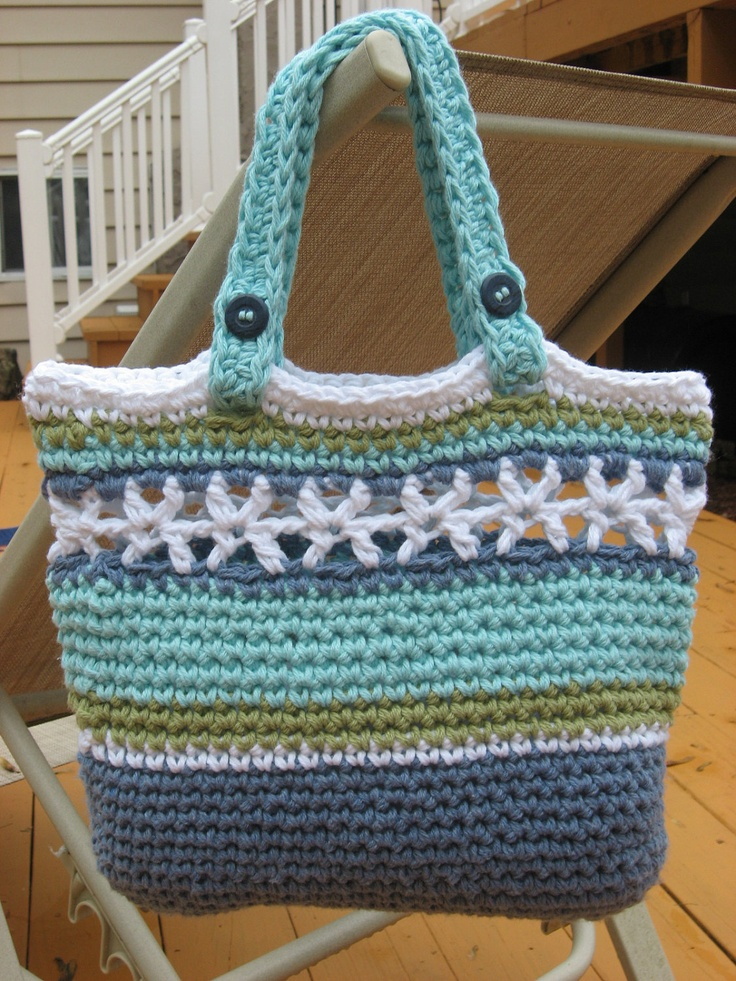 Crochet Bag Pattern Pdf : Crochet Patterns