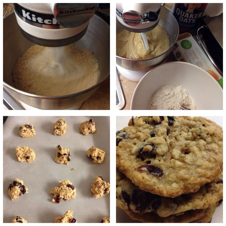 Soft chewy oatmeal cookies ~ 3/4c sugar, 3/4c brown sugar, 3/4c butter ...