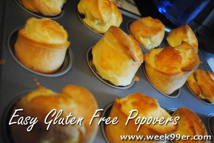Easy Gluten Free Popover Recipe | Grain Free | Pinterest
