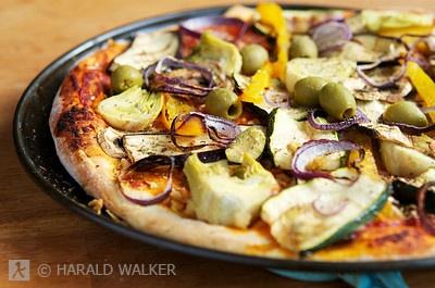 Mimo's Mediterranean Pizza | Vegetarian | Pinterest