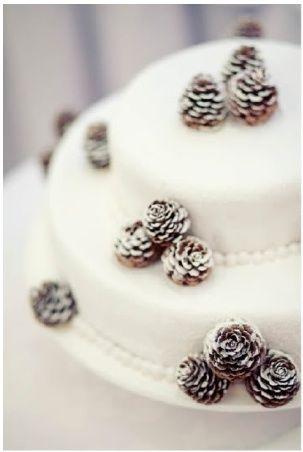 Pine cone cake | Parties | Pinterest