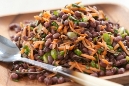 Zesty Adzuki Bean Salad: Good for the liver (Chinese medicine) From ...
