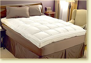 Down On Top Feather Bed - Pacific Coast Feather Company
