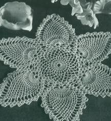 Crochet Art: Crochet Doilies - Free Crochet Pattern - Oval