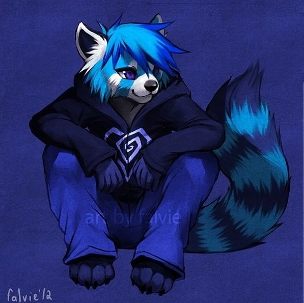 Go Back  gt  Gallery For  gt  Wolf FurriesRed Panda Drawing Furry