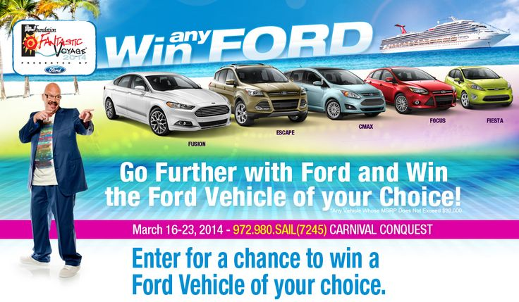 Win Any Ford | Tom Joyner Foundation Fantastic Voyage 2014