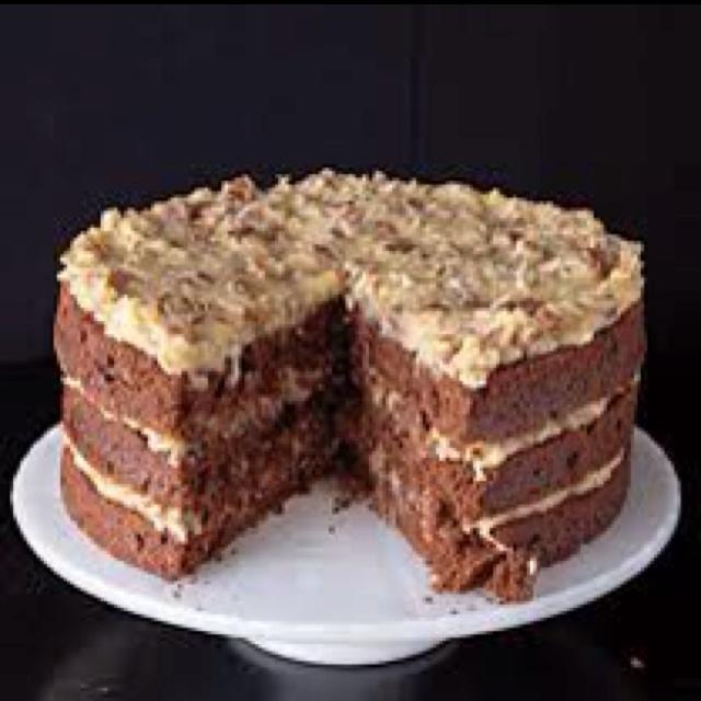 Chocolate Cake Recipes **** Best German chocolate cake recipe