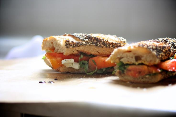 Heirloom Tomato Sandwich | Food - Sandwiches | Pinterest