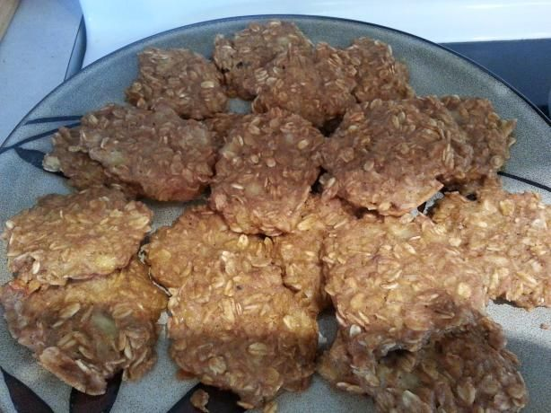 Peanut Butter Banana Oatmeal Cookies. Also try: 3 mashed bananas ...
